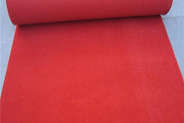 红色地毯毡